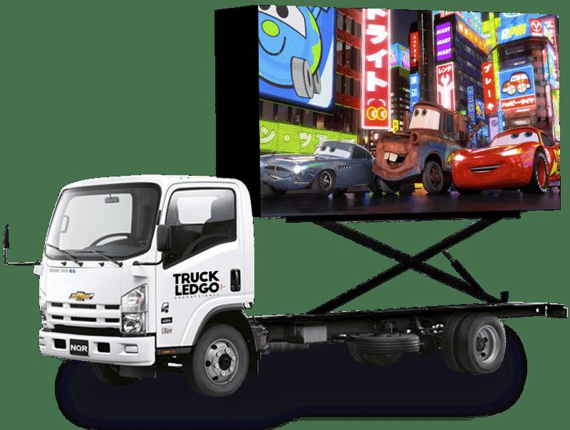 camion pantalla led