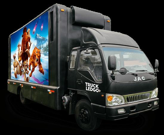 camion pantalla led jac
